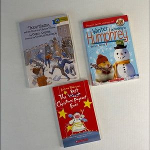 Scholastic Kids bundle of 3 books